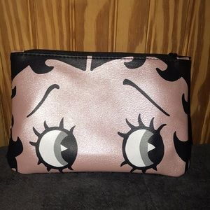 Betty Boop makeup bag never used